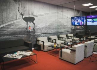 imagen El primer Avis Preferred Lounge…