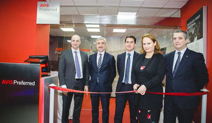 Inauguración de la Avis Preferred Lounge en Barcelona a cargo de Valerie Chenivesse, Consejera Delegada de Avis Budget Group en la región Iberia.