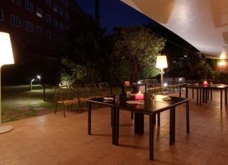 Jardín Rafaelhoteles Atocha