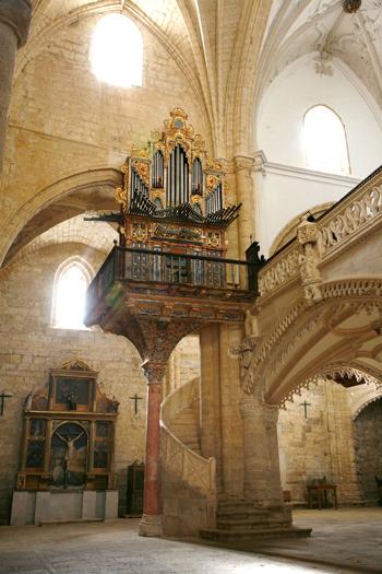 Órgano de la iglesia de San Hipólito el Real