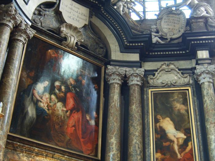 Adoración de los Reyes Magos de Rubens © Jan Smets