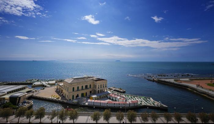 Vista desde la fortaleza de Livorno
