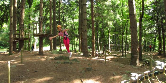Parque Aventura Selva del Buffardello