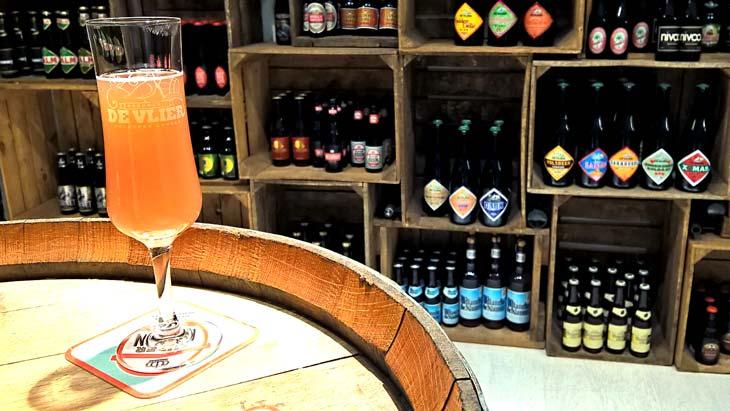 Cata de cervezas en Lovaina