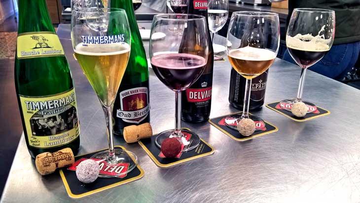 Maridaje de chocolate y cerveza en Antoine Sweets