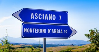 Asciano y Monteroni d'Arbia