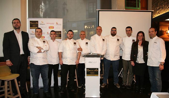 Equipo español participante en el Bocuse d'Or