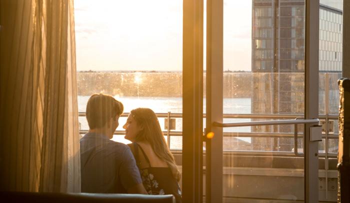 San Valentín en Nueva York. Foto: Julienne Schaer