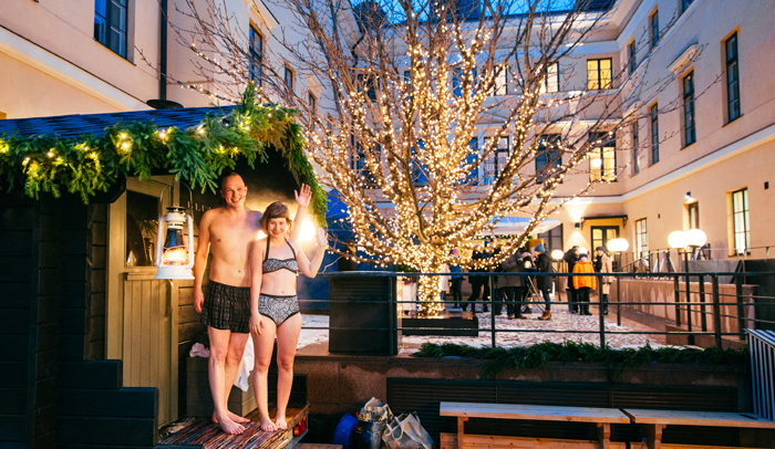 Sauna Day en Helsinki