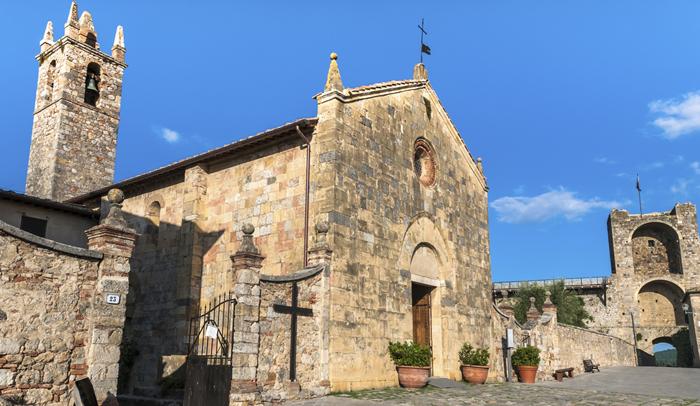 Iglesia de Monteriggioni
