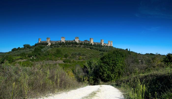 Vistas de Monteriggioni