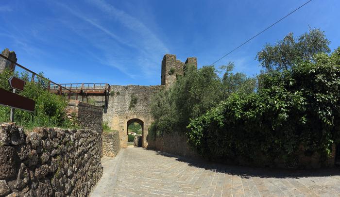 Puerta de entrada de Monteriggioni