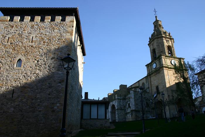 Basílica de Santa María y Torre Salazar de Portugalete