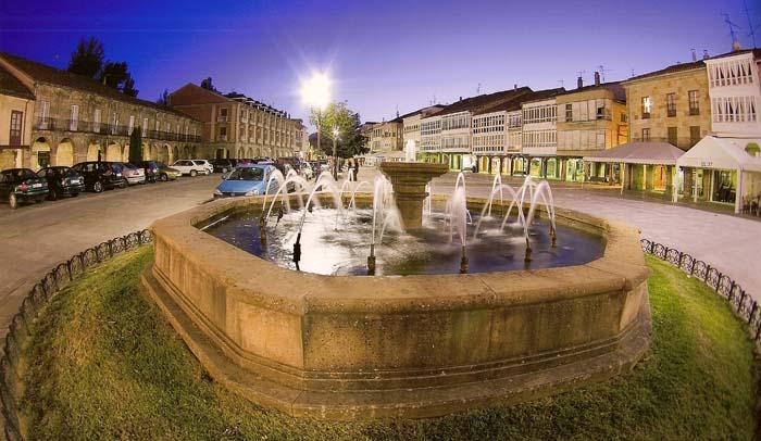 Plaza España de Aguilar de Campoo