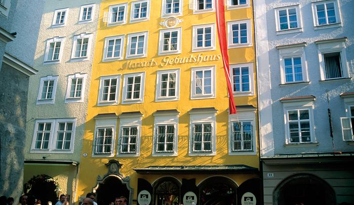 Casa natal de Mozart en Salzburgo