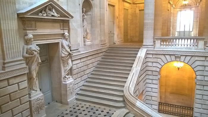 Escalinata del Gran Teatro de Burdeos