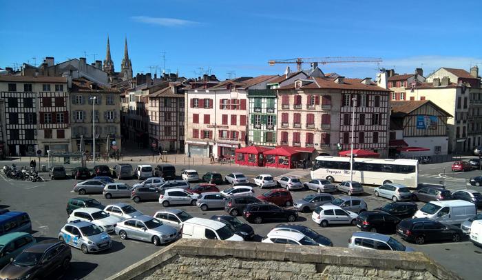 Vistas de Petit Bayonne desde el castillo nuevo