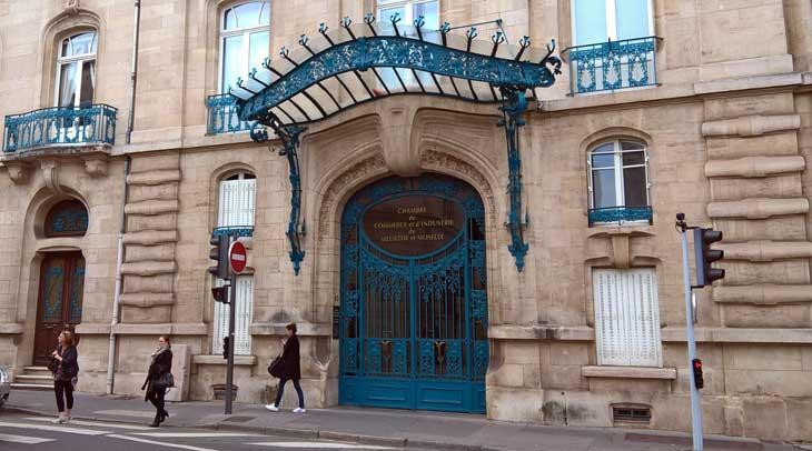 Muestra urbana de art nouveau en Nancy