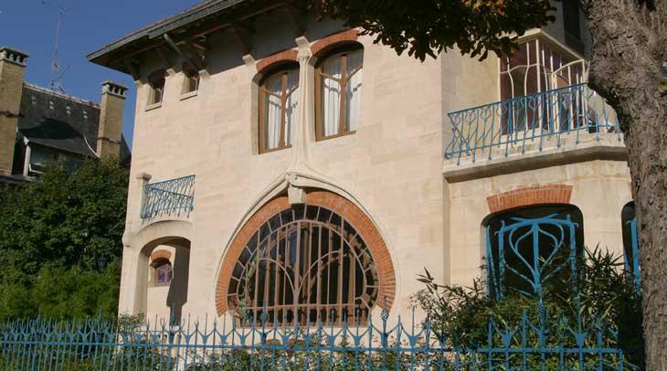 La Villa Les Glycines es un ejemplo de art nouveau ® Ville de Nancy
