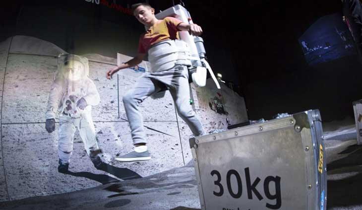 Gravedad cero en la Ciudad del Espacio de Toulouse ® Manuel Huyn