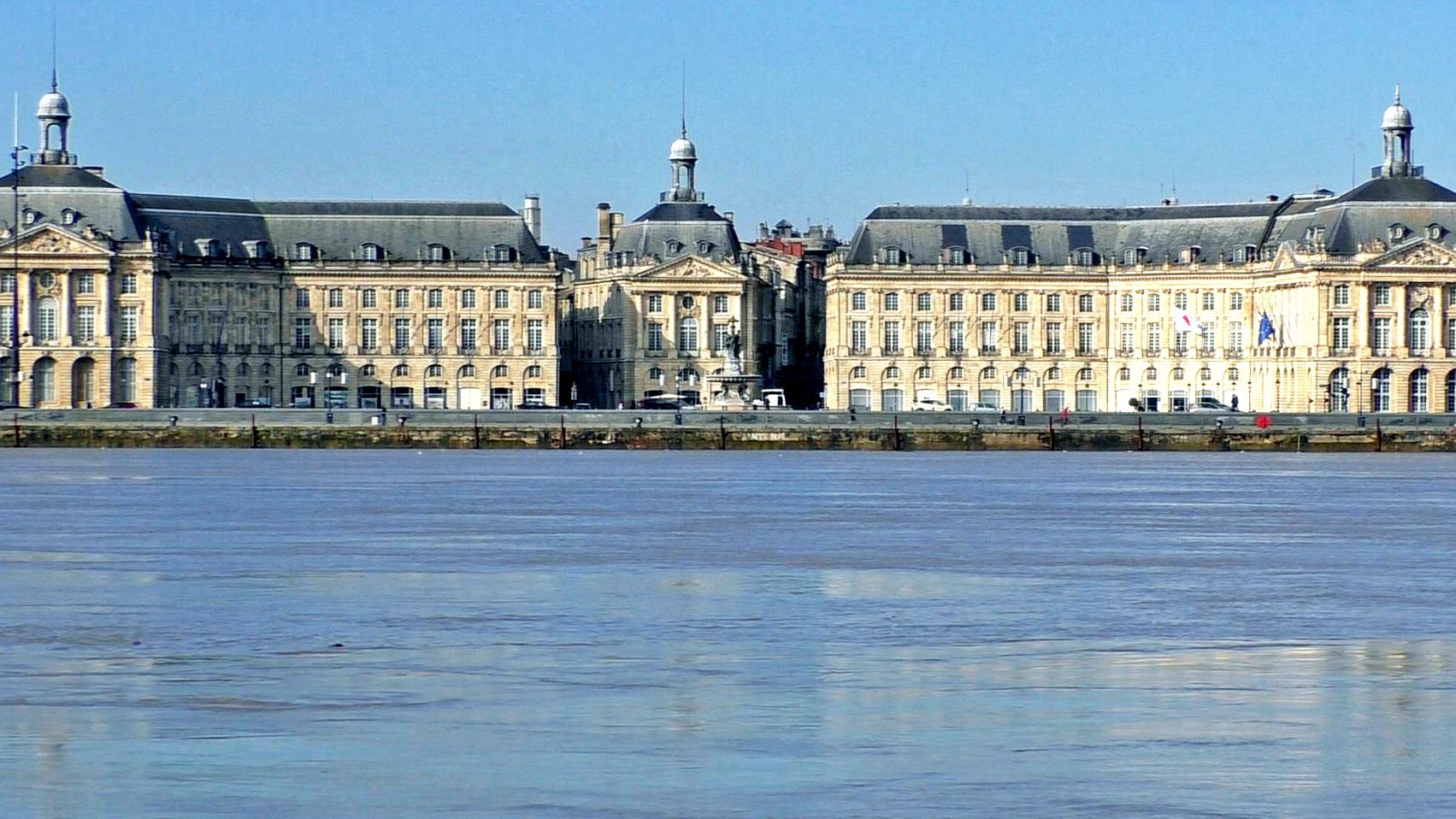 Burdeos, río Garona
