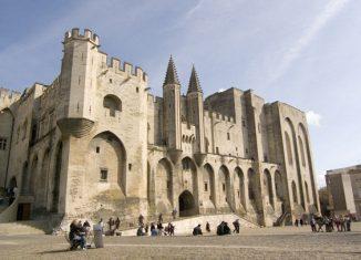 Palacio Papal. Autor C. Rodde.
