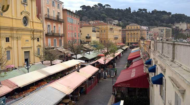 Mercados en el Cours Saleya