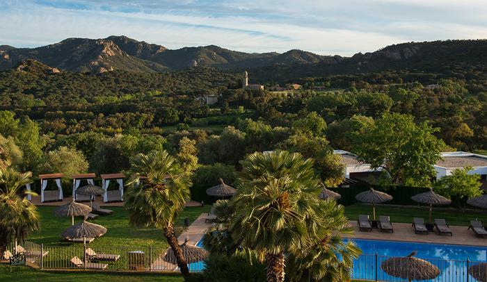 Valle de Solius, llamado la Toscana de Catalunya, donde está Sallés Hotel & Spa Mas Tapiolas