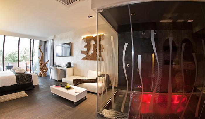 Interior de Suites Natura de Sallés Hotel & Spa Mas Tapiolas