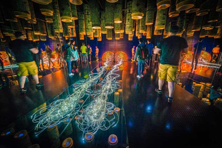 Cámara de las Maravillas de Los Mundos de Cristal de Swarovski. Foto © Aníbal Trejo