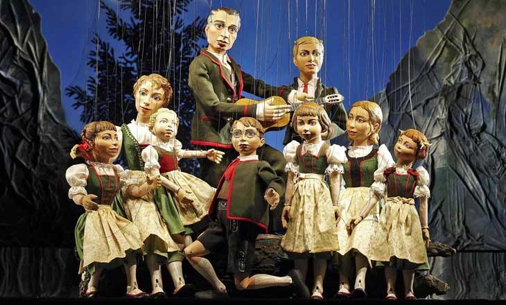 Musical Sonrisas y Lágrimas del Teatro de las Marionetas de Salzburgo. Copyright Tourismus Salzburg GmbH