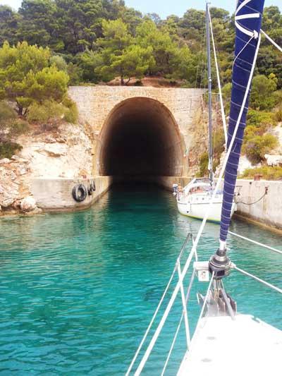 Bunker en isla de Lastovo
