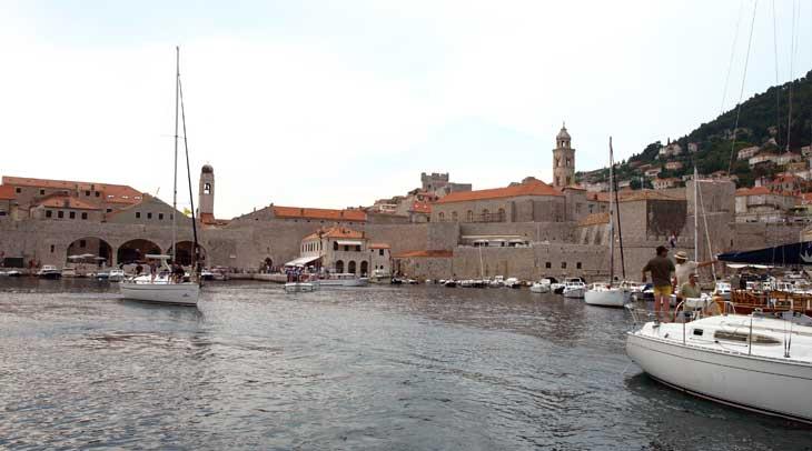 Dubrovnik desde el velero