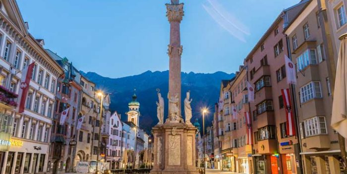 Casco histórico de Innsbruck Aníbal Trejo