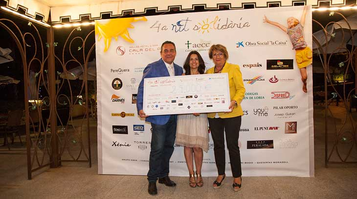 En la cuarta Noche Solidaria de Sallés Hotels se han recaudado 29.000 euros