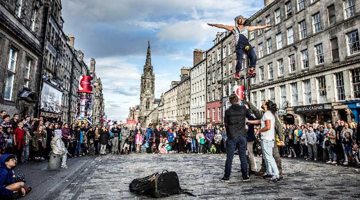 Edimburgo se llena de festivales en verano