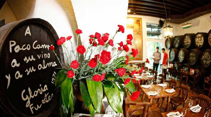 Restaurante El Pimpi de Málaga