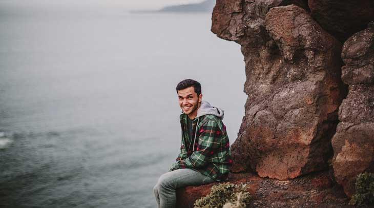 El corredor grancanario de trail, Marcos Yáñez, en Islandia