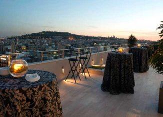 El Hotel Avenida Palace tiene unas buenas vistas de la ciudad de Barcelona