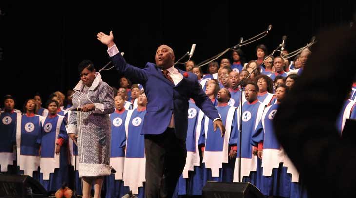 Black Heritage Choir es uno de los grupos que participan este año en el Festival de Góspel