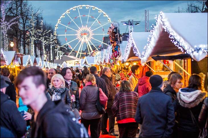 Mercado de Navidad. Foto ® Visit Brussels/Eric Danhier
