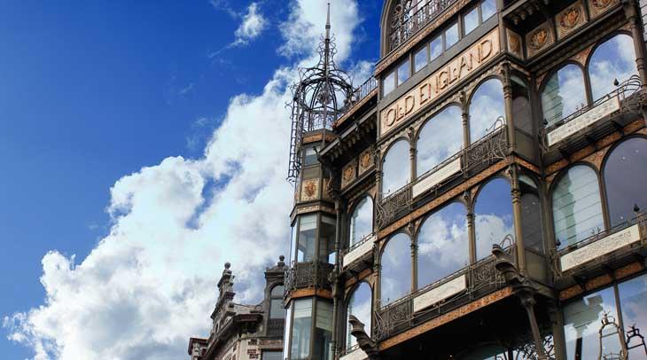Art Nouveau en Bruselas. Foto ®Visit-Brussels/ Jean Pol Lejeune