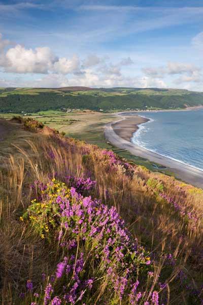 Bahía Porlock, en Exmoor,en el condado de Somerset