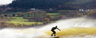 Surf en Snowdonia