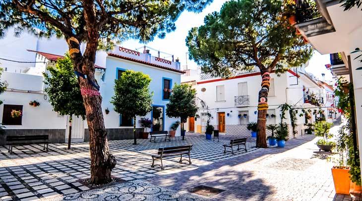 Plaza Begines © Ayuntamiento de Estepona