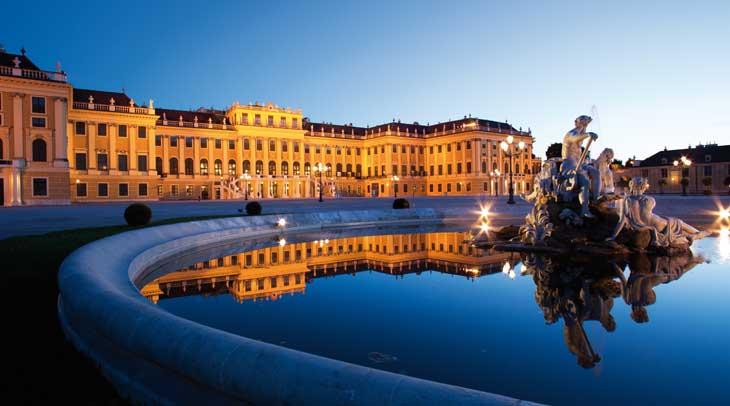 Palacio de Schönbrunn ® Wien Tourismus/Peter Rigaud