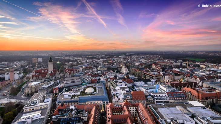 Skyline de Leipzig