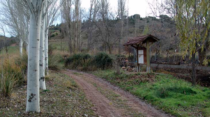 Sendero del Parque Cultural de Albarracín
