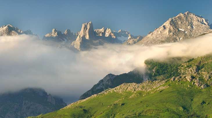 Parque Nacional Picos de Europa. Foto José Ramón García. Cedida por Turismo de Asturias