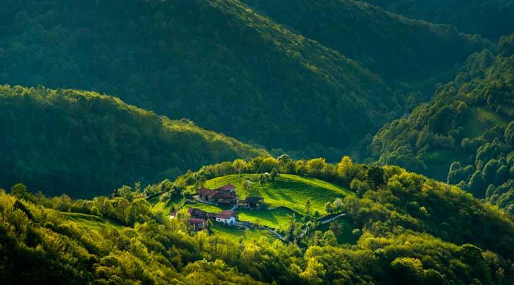 Parque Natural de Redes. Autor Manuel S. Calvo. Cedida por Turismo de Asturias.